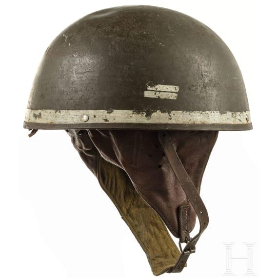 Three Belgian steel helmets, 1945 - 1970s