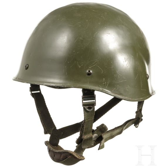 Two helmets, France, 1960s - 1980s