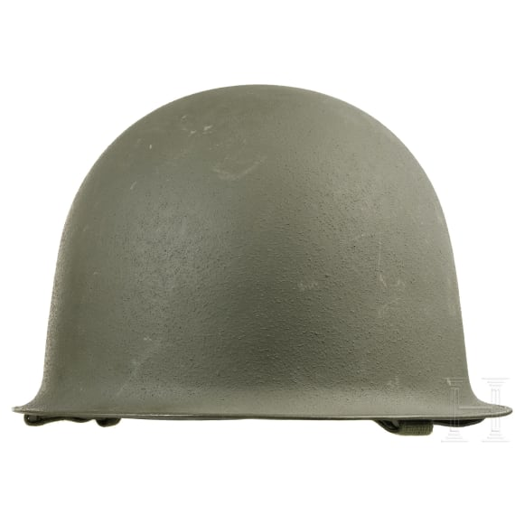 Three French steel helmets OTAN, 1950s - 1970s