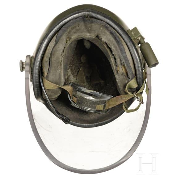 Kunststoff-Schutzhelm EOD für Minensucher/Entschärfer, Großbritannien, datiert 1985