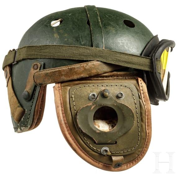A US-American M 38 tanker helmet, 1950s - 1970s