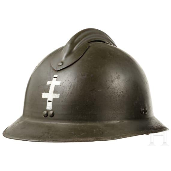 Two Belgian/French steel helmets Adrian, 1920s - 1940s