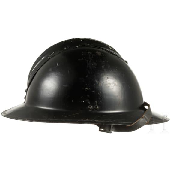 Stahlhelm M 26/31 der Polizei, Belgien/Niederlande, um 1926-39
