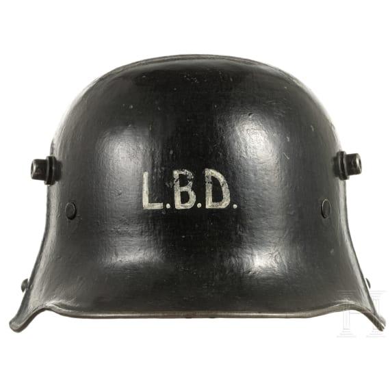 A German steel helmet M 16, 1920s - 1930s