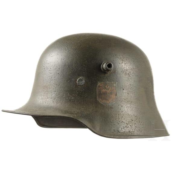 """A steel helmet M18, German """"Reichsheer"""", 1921- 1935"""