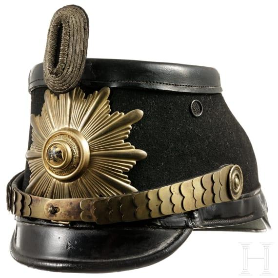 Tschako für Offiziere der Schutzpolizei, Preußen, 1920er Jahre