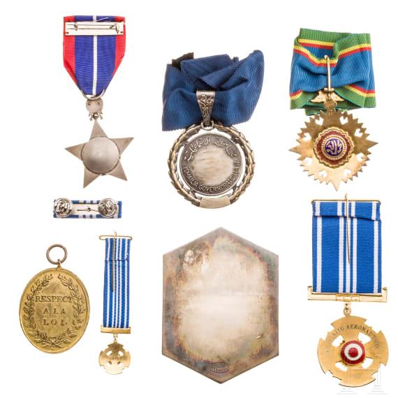 Seven international awards, 20th century