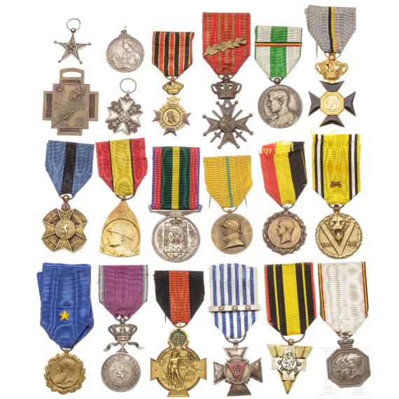 20 awards, 19th/20th century