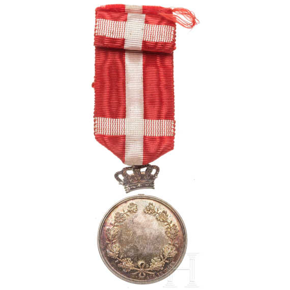 A medal of King Christian X, 1912 - 1947