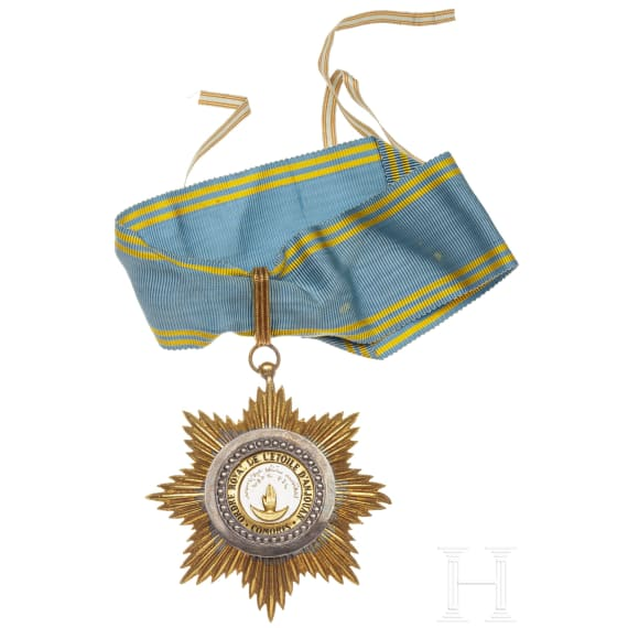 An Order of the Star of Anjouan, 20th century