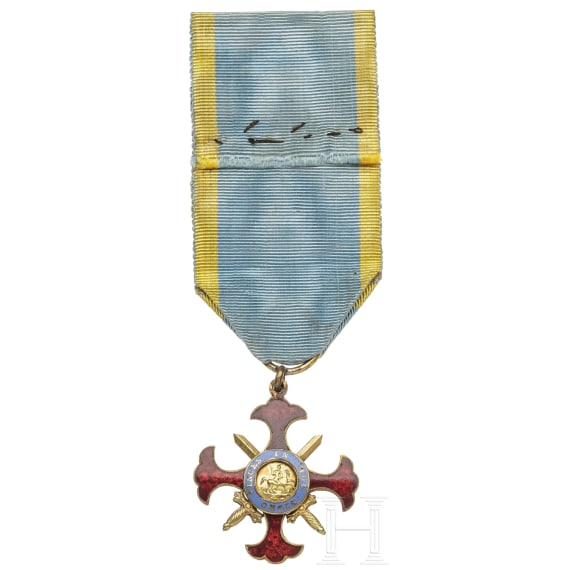 Orden Militare di San Giorgio della Riunione, 19./20. Jhdt.