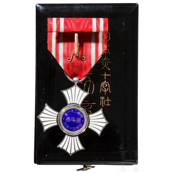 Japan - Silberner Verdienstorden des Roten Kreuzes