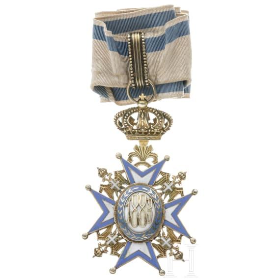Serbien - St. Sava-Orden III. Klasse für Kommandeure, bis 1941