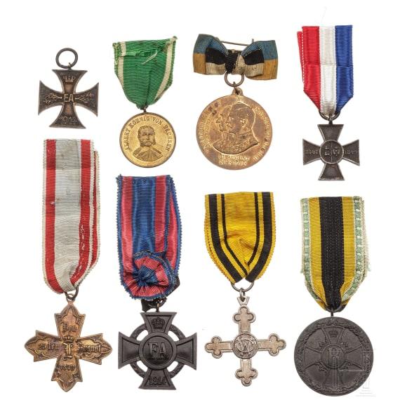 Eight awards, 19th/20th century