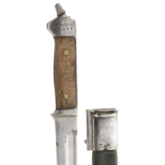 A Danish bayonet M 1889, circa 1890