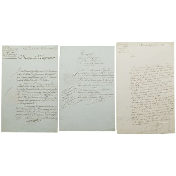 A letter from Marshal Berthier to Napoleon, Munich, 15.3.1806