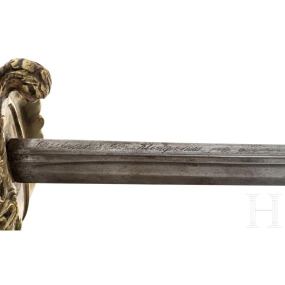 Säbel M 1853/70 für Offiziere der Marine