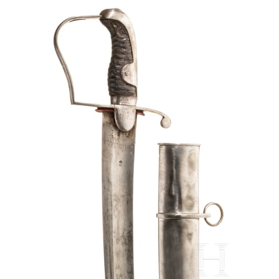 A cavalry sabre pattern 1796