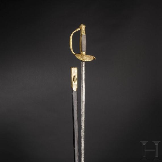 Degen für Angehörige der Stadtregierung von Rom, um 1800