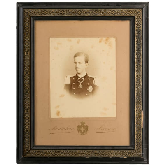 Portrait of Prince Viktor Emanuel, circa 1885