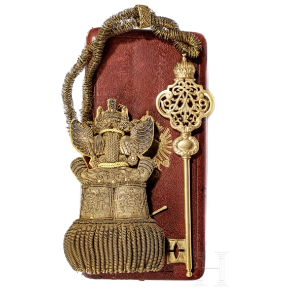A chamberlain's key from the reign of Emperor Franz Josef I