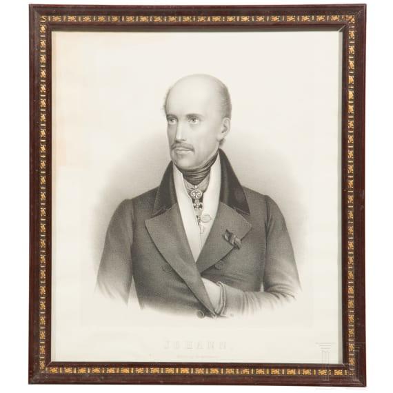 Archduke Johann of Austria – a portrait, 19th century
