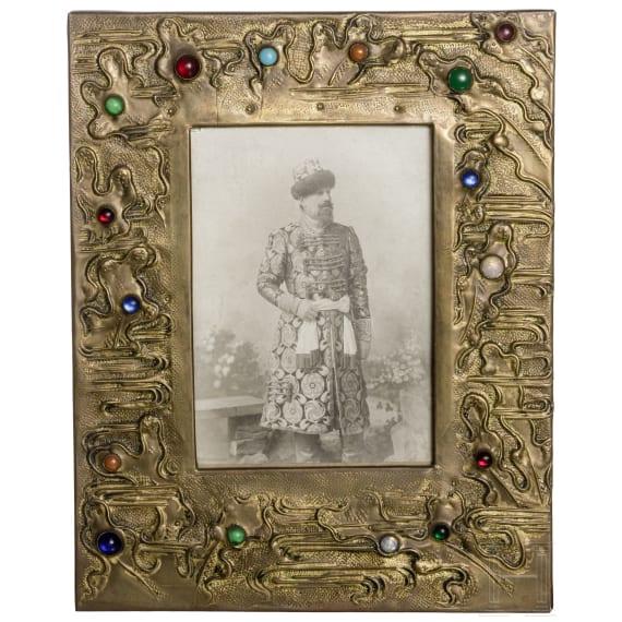 A framed original photograph of Erzherzog Alexei Alexandrowitsch Romanow (1850 – 1908)