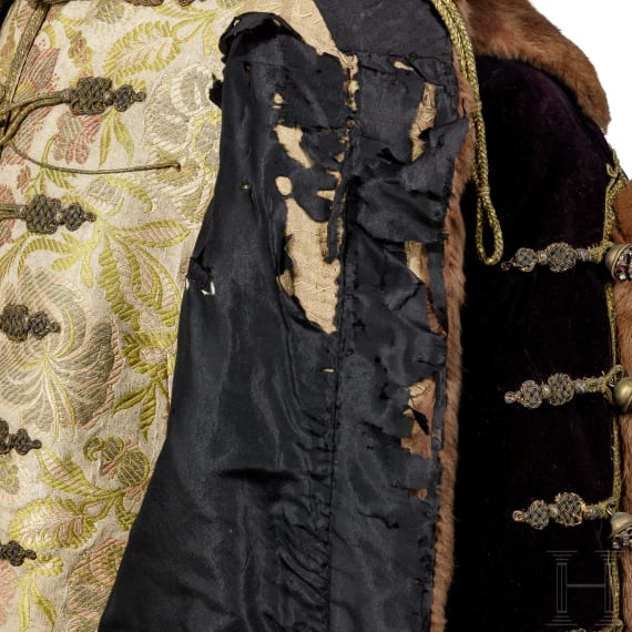 A gala costume of a Hungarian magnate, 2nd half of the 19th century