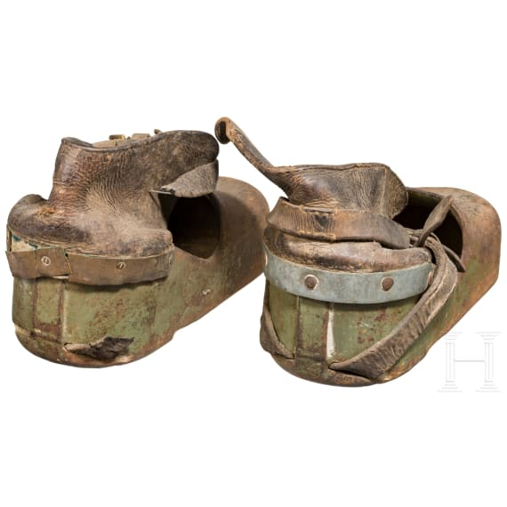 A pair of shoes for combat divers, 1st half of the 20th century