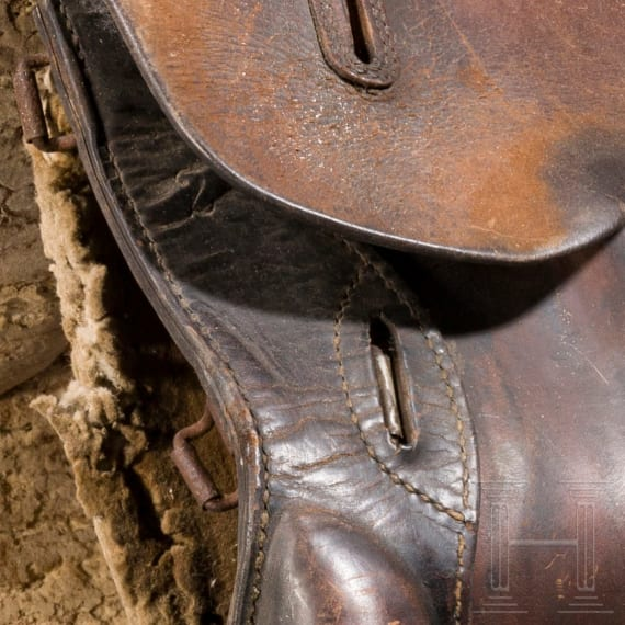 Two saddles, early 20th century