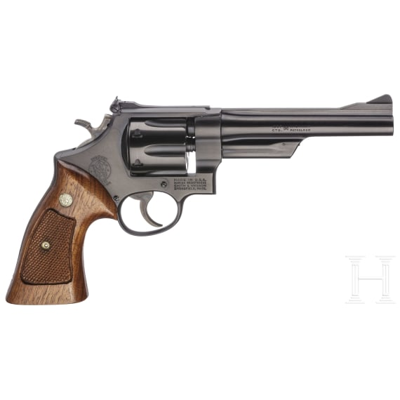 """Smith & Wesson Mod. 28-2, """"The Highway Patrolman"""", in box"""