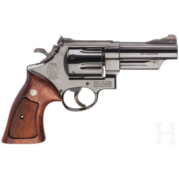 """Smith & Wesson Mod. 29-2, """"The .44 Magnum"""", in Kiste"""