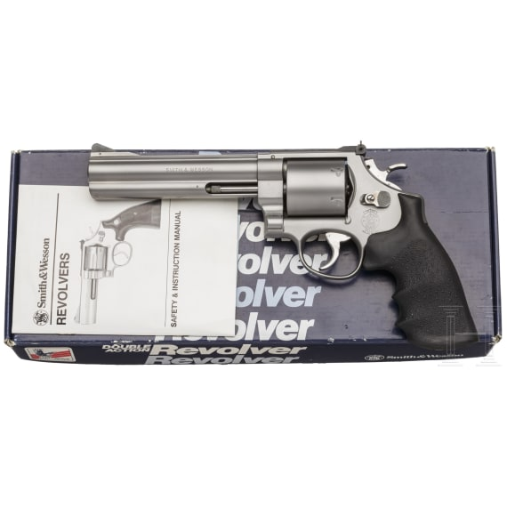 """Smith & Wesson Mod. 629-3, """"The .44 Magnum Stainless"""", im Karton"""