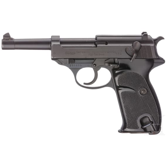 A Walther P38 service pistol