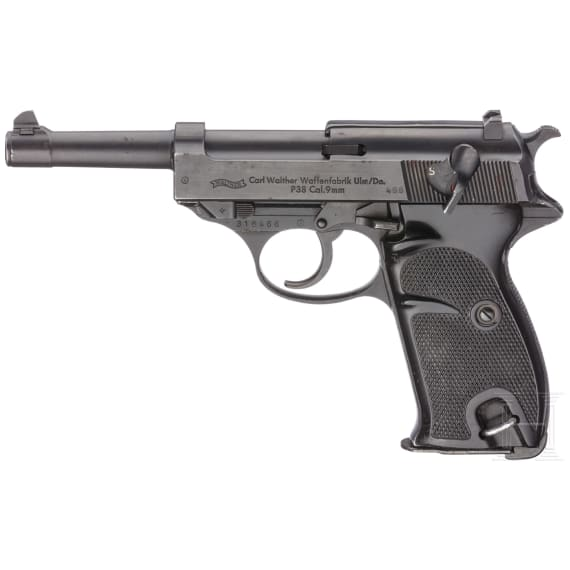 A Walther P38 with conversion kit (Police/Ministry of the Interior)
