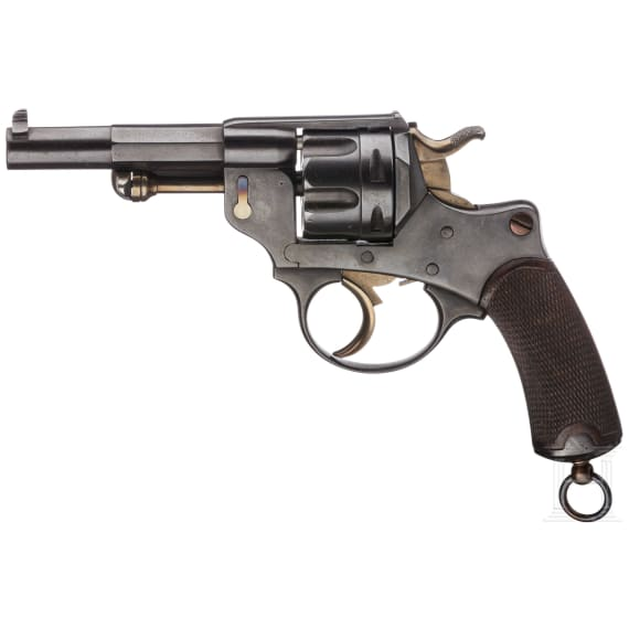 A revolver Mod. 1874 by St. Étienne, commercial, France