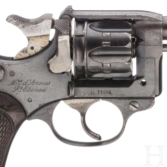 A revolver Mod. 1892, St. Étienne, commercial