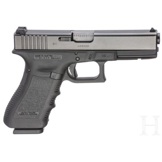 Glock Mod. 17, im Koffer