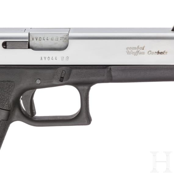 Glock Mod. 17, two-tone, in Box