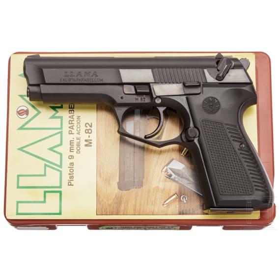 llama Mod. M 82, in Box