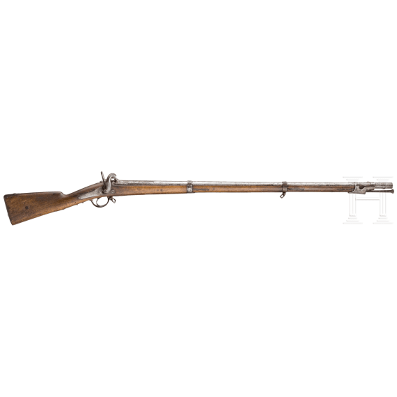 infantry rifle, France, 1842