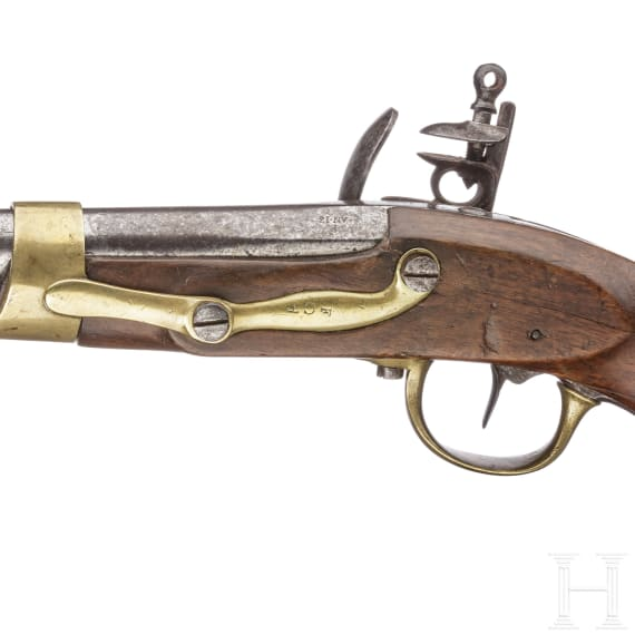 A French M an 13 cavalry pistol