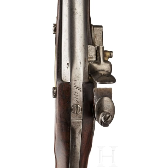 A French M 1816 cavalry pistol