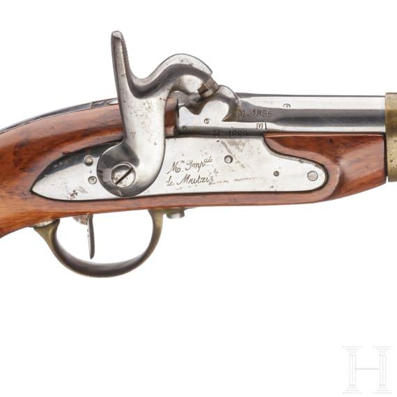 A model 1822 bis cavalry pistol, collector's replica