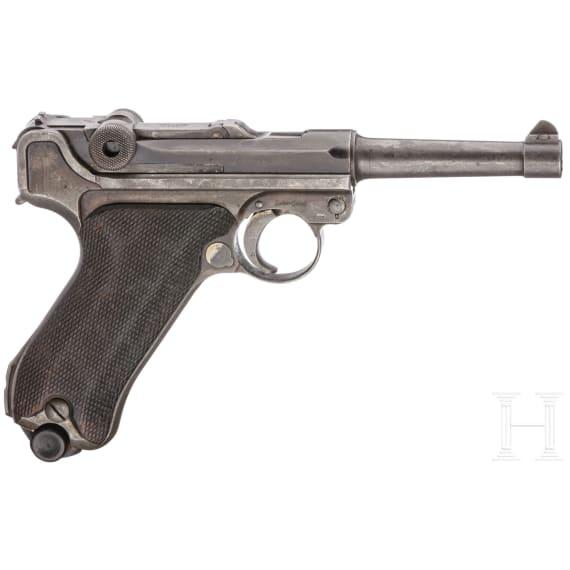 A Dutch Navy Luger by DWM / Mauser, contract 1930