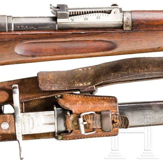 Infanteriegewehr M 1896/1911, mit Bajonett