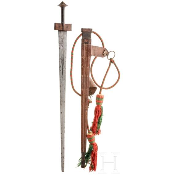 A Tuareg sword (takuba), 20th century